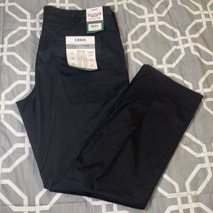 Izod sportflex waistband straight fit chino